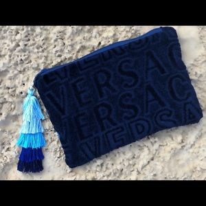 Versace towel bag/clutch